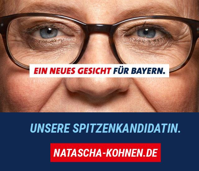 Homepage von Natascha Kohnen